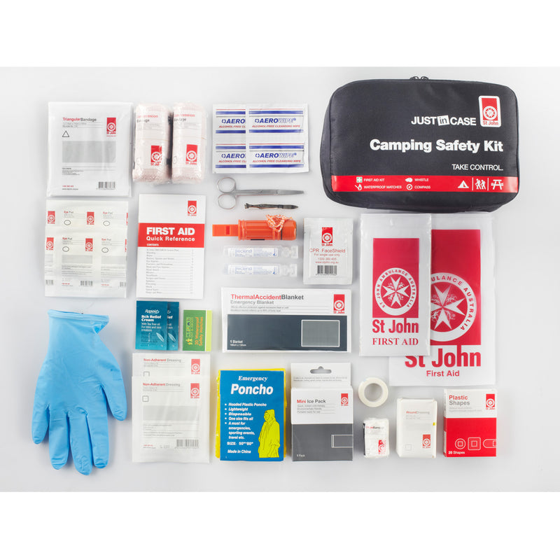 St John - Camping First Aid Safety Kit - RV Online