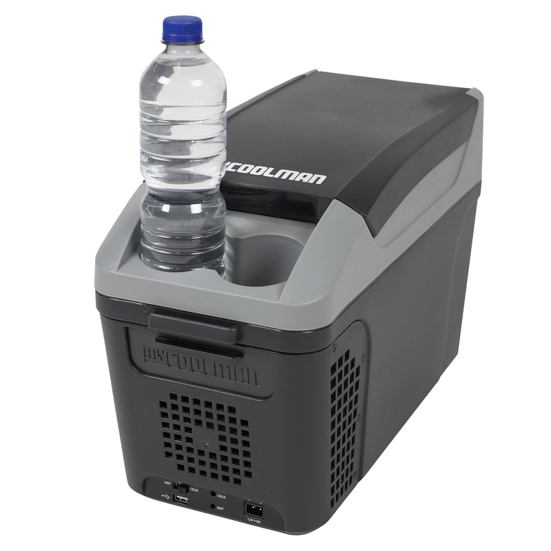 myCOOLMAN 9.5L 'The Commuter' Thermometric Cooler/Warmer- CTP10 & FREE CASUS GRILL | RV Online | Shop Camping & Caravanning Gear Online