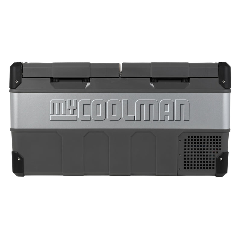 FACTORY SECONDS myCOOLMAN 85L 'The Adventurer' Portable Fridge/Freezer - CCP85DZ | RV Online | Shop Camping & Caravanning Gear Online