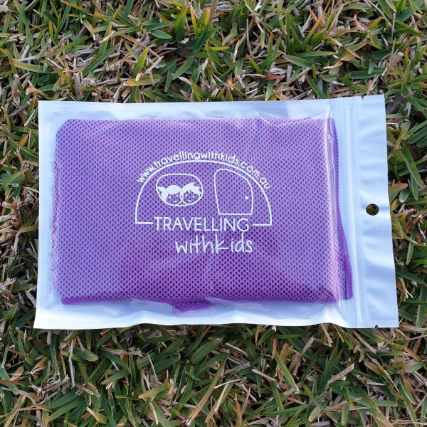 Caravanning with Kids - Cooling Towel | RV Online | Shop Camping & Caravanning Gear Online