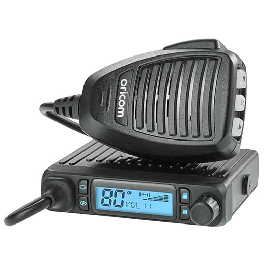 Oricom - Mobile UHF CB 2-way radio -  DTX4300 Pack (Including DTX4300, ANU220 & BR100 Bracket) | RV Online | Shop Camping & Caravanning Gear Online