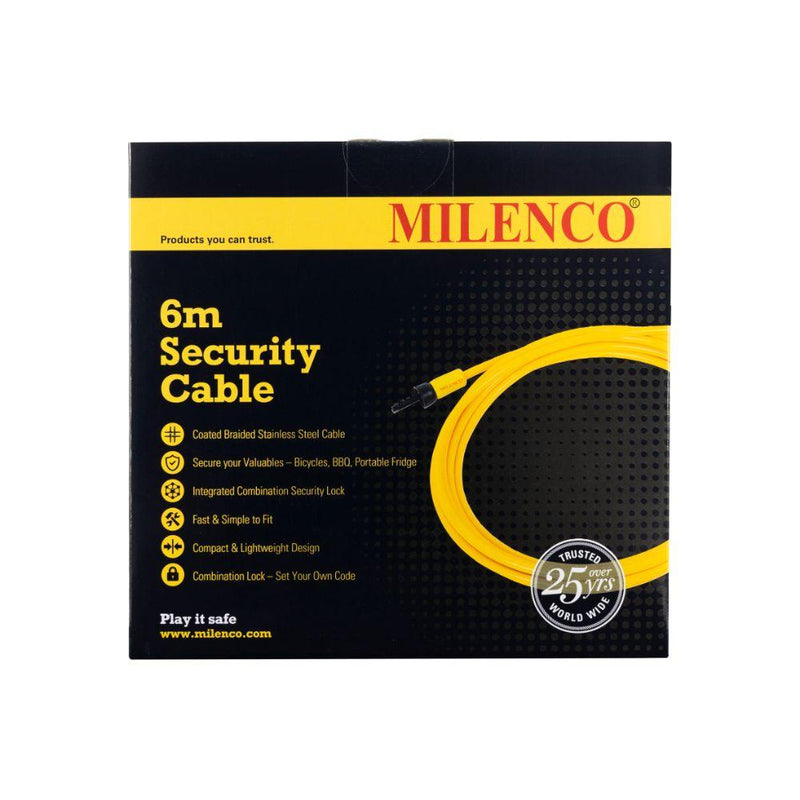 Milenco - 6m Security Cable - MIL5951 | RV Online | Shop Camping & Caravanning Gear Online