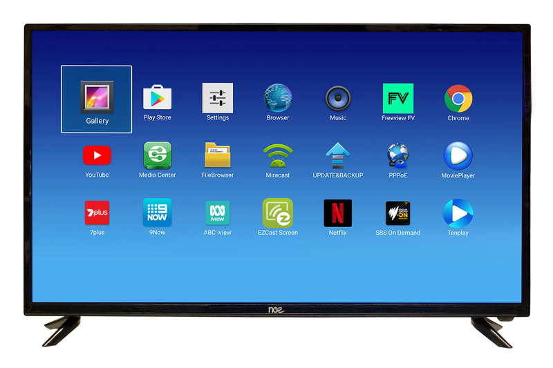 "NCE 40"" Smart LED LCD TV/DVD Combo 12VDC (Bluetooth) - RV Online"