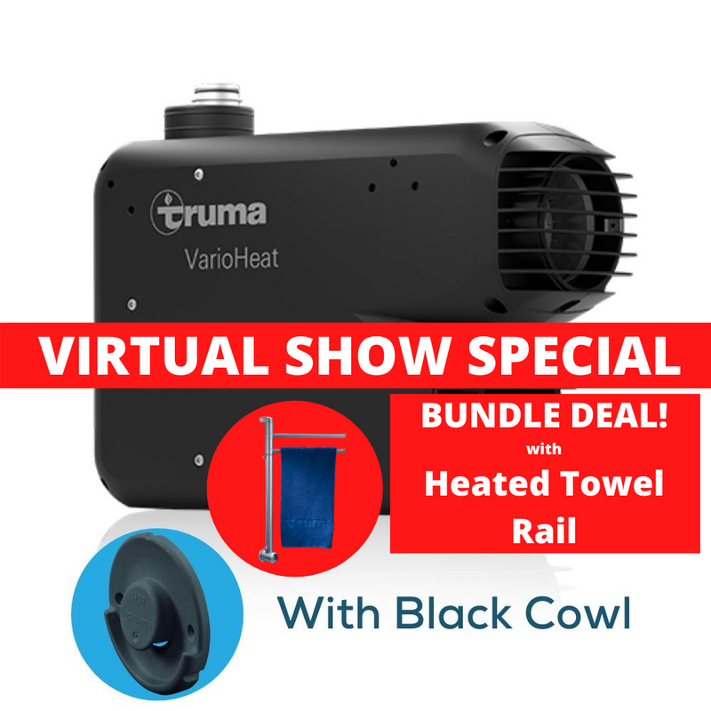 Truma - VarioHeat eco- Gas Heater - BUNDLE with  HEATED TOWEL RAIL | RV Online | Shop Camping & Caravanning Gear Online