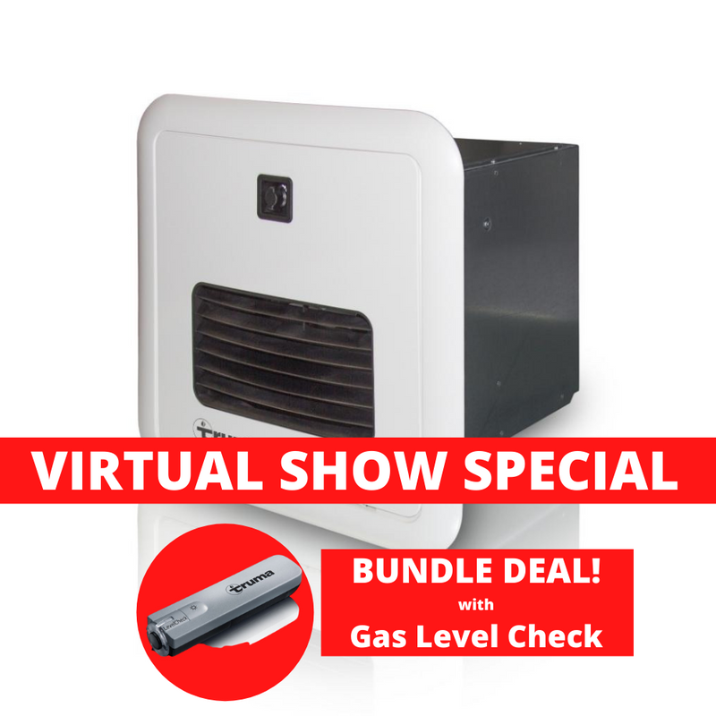 Truma - AquaGo - Instant Gas Hot Water Service - White - BUNDLE with Gas Level Check | RV Online | Shop Camping & Caravanning Gear Online