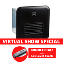Truma - AquaGo - Instant Gas Hot Water Service - Black - BUNDLE with Gas Level Check | RV Online | Shop Camping & Caravanning Gear Online