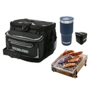 38 Can Backpack Cooler 20L + CasusGrill Portable BBQ + 20 Oz Insulated Travel Tumbler + Mini Bluetooth Speaker