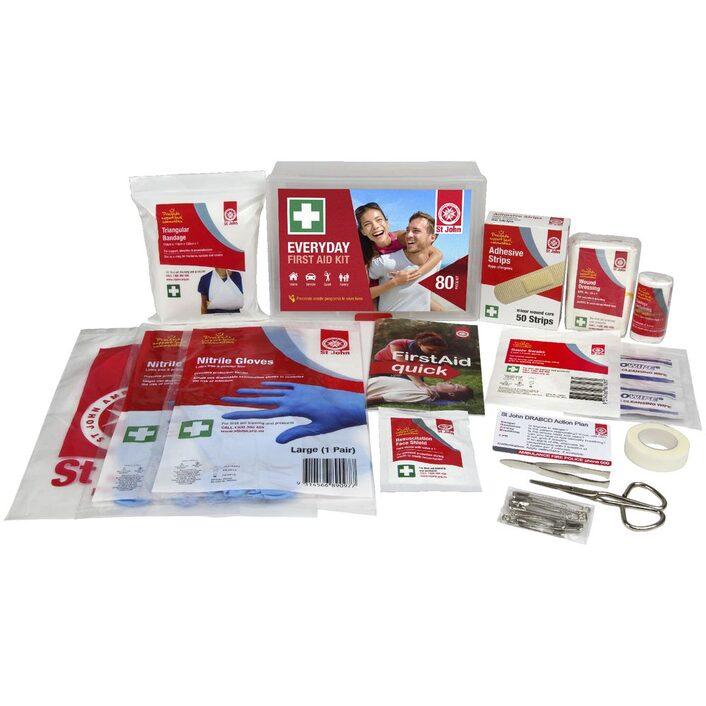St John - Everyday First Aid Kit | RV Online | Shop Camping & Caravanning Gear Online