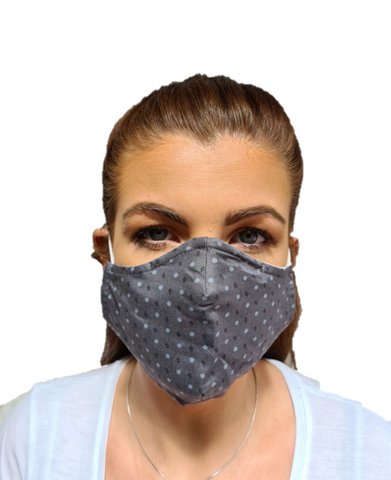 3 Layered Cotton Reusable Face Mask Paco