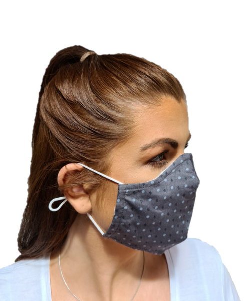 3 Layered Cotton Reusable Face Mask Irish Deeor