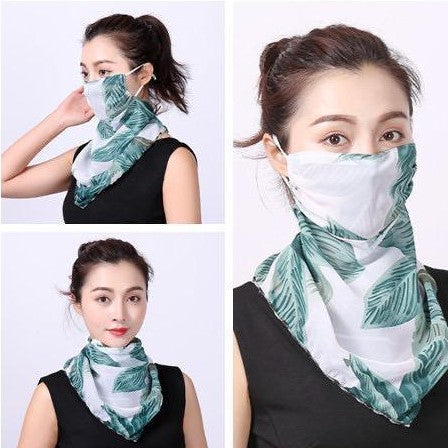 face mask with scarf cheap