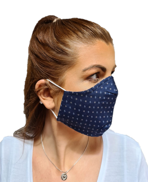 3 Layered Cotton Reusable Face Mask Irish Design