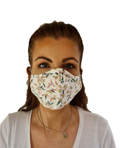 3 Layered Adjustable Washable Cotton Fashion Face Mask
