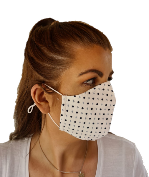 3 Layered Cotton Reusable Face Mask Corona virus