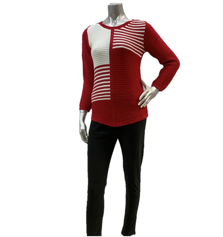 Women's Jumper With Stripe Detail