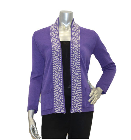 women's cardigan edge to edge with pockets
