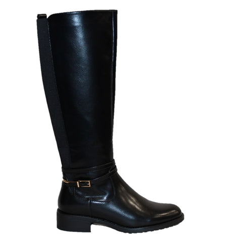 Women's Knee High Boots - Black