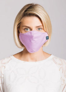 Plain Heather - 3 Layered Cotton Face Mask