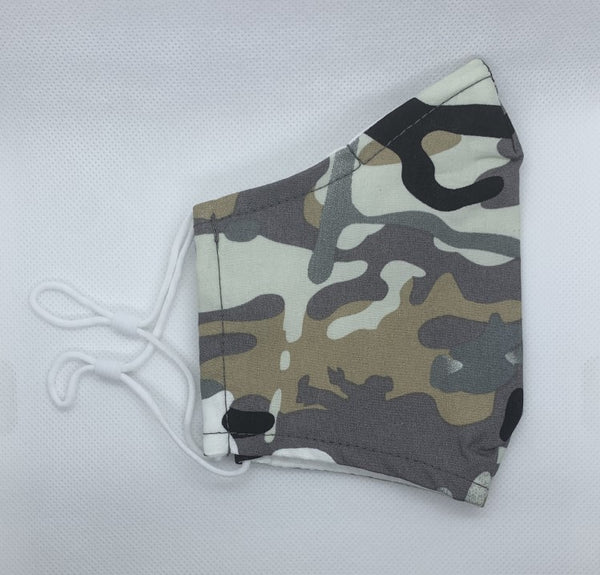 camouflage cotton face mask