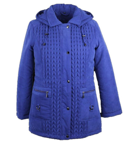 Women's Jacket Micro Fiber - Cobalt Blue
