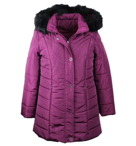 womens jacket for winter with removable hood