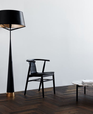 Dining Chair with Lamp