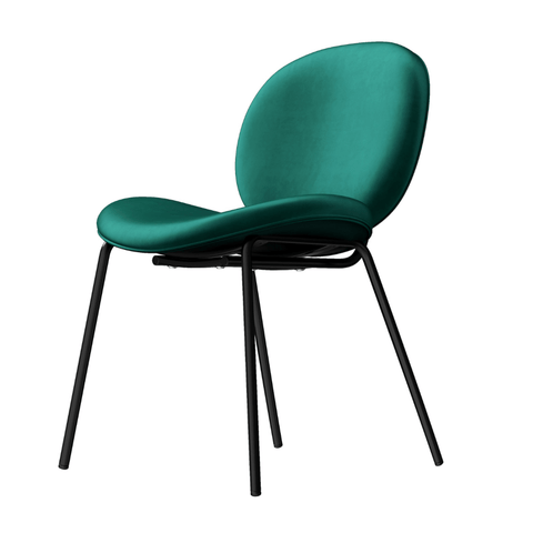 Ava   Green Beetle Dining Chair