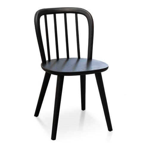 Black Country Dining Chair
