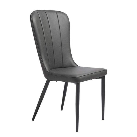 Bordeaux Grey High Back Dining Chair