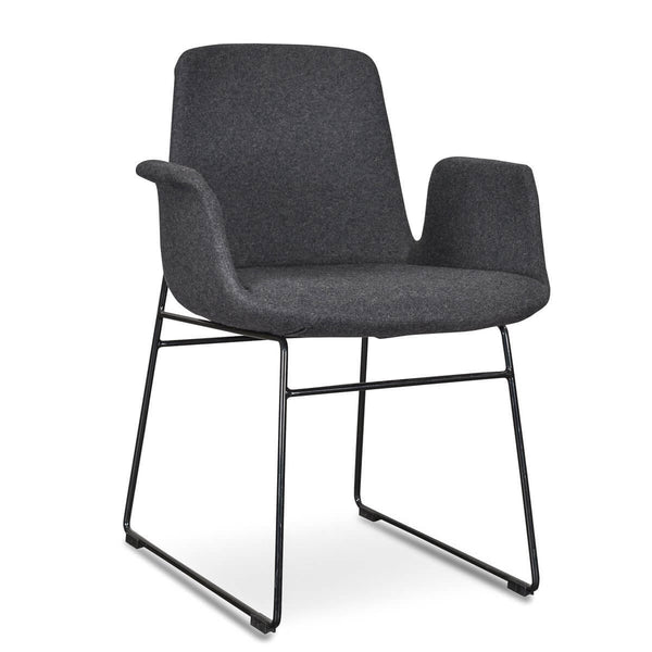 Colorado   Modern Dining Chair With Arms