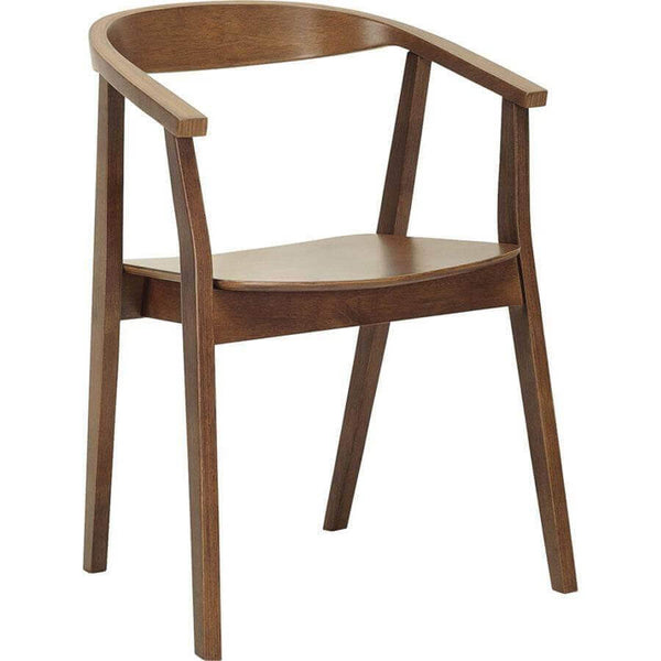 Granada   Modern Wooden Dining Chair With Arms