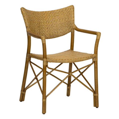 Henny Rattan Dining Chair