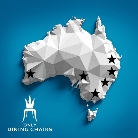 Only Dining Chairs Map