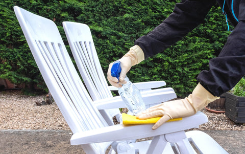 Outdoor Dining Chair Cleaning