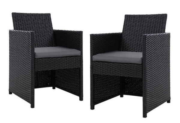 Portland | Wicker Outdoor Dining Chairs