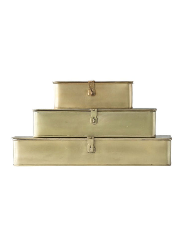 Brass Boxes, Set of 3