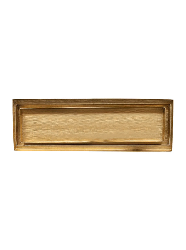 Brass Nesting Trays, Set of 3