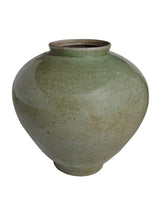 Celadon Crackle Jar