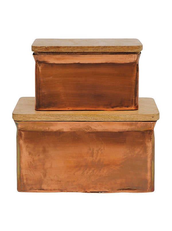 Copper Boxes, Set of 2