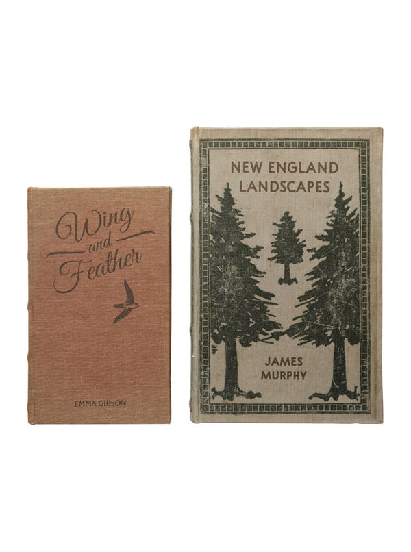 Landscapes Book Box, Set of 2