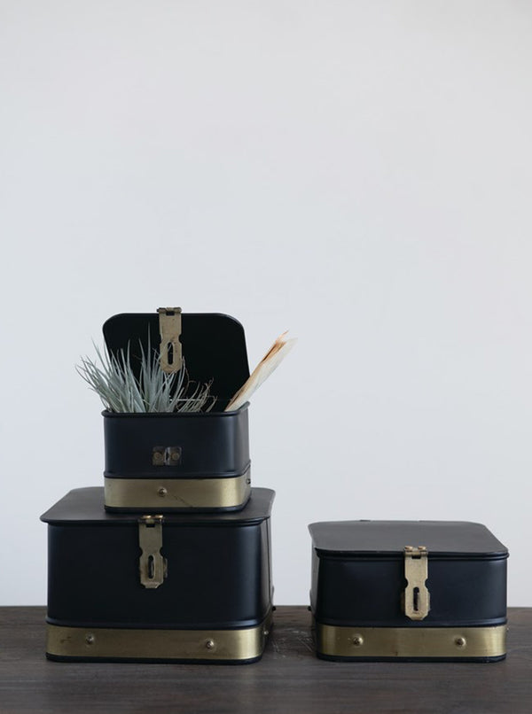 Leighton Boxes, Set of 3