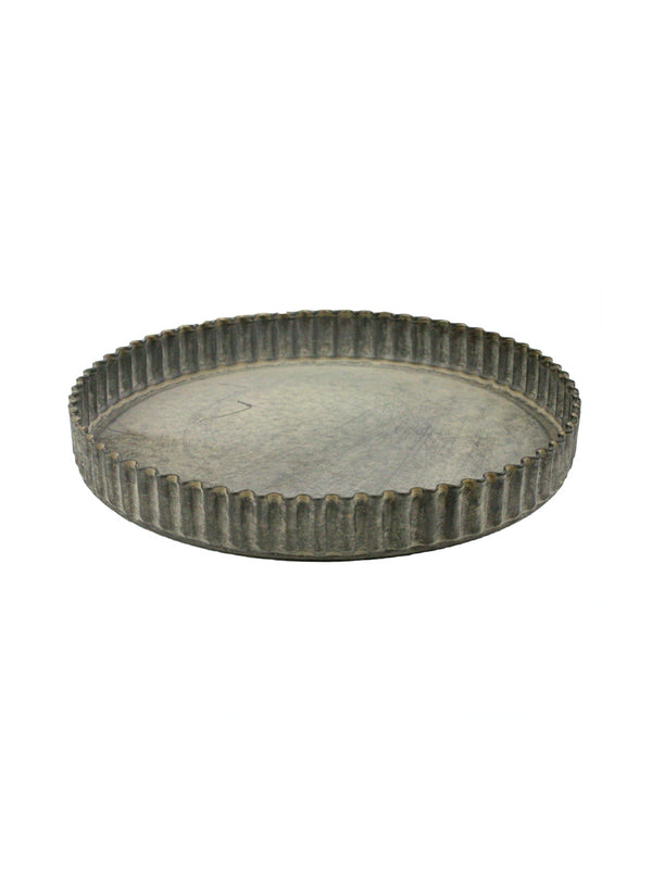 Ribbed Round Tray