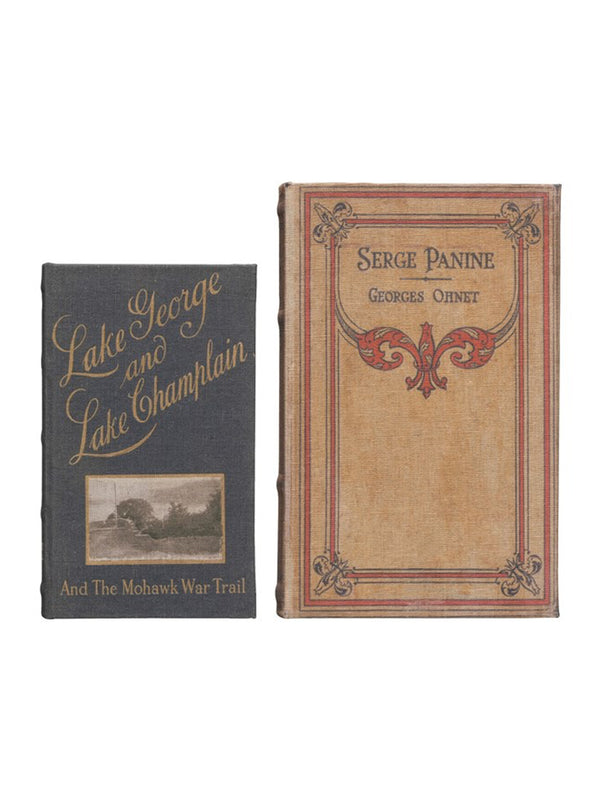 Serge Panine Book Box, Set of 2
