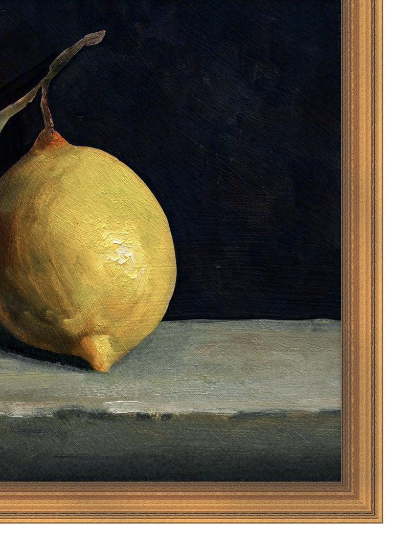 Still Life: Lemon
