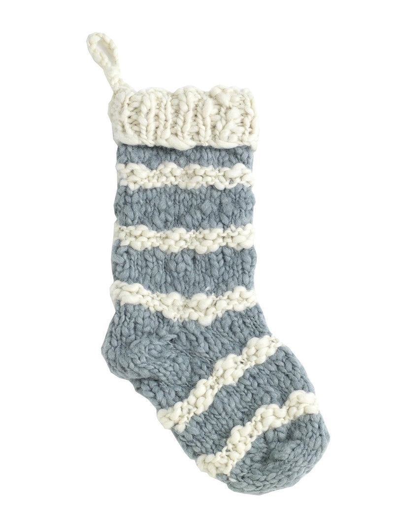 Stripe Knit Stocking