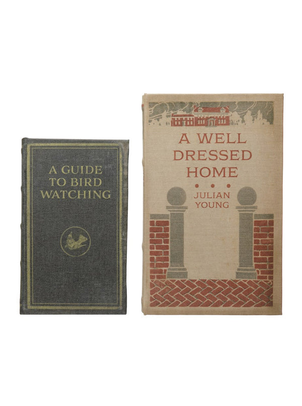 Well Dressed Home Book Box, Set of 2