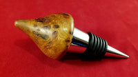 Bottle stopper (burr elm) - Woodsmithery - WoodsmitheryShop