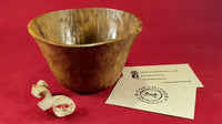 Bowl (burr oak) - Woodsmithery - WoodsmitheryShop