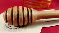 Honey dipper (oak) - Woodsmithery - WoodsmitheryShop
