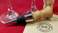 Bottle stopper (oak) - WoodsmitheryShop